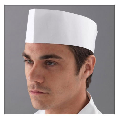 Disposable Chefs Hats, Hair Nets, Gloves & Aprons