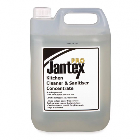 Jantex Pro Kitchen Cleaner and Sanitiser Concentrate 5 Litre