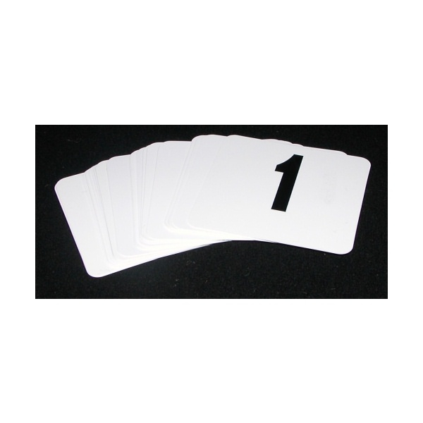 Set Of Table Numbers 1-12 95 x 100mm