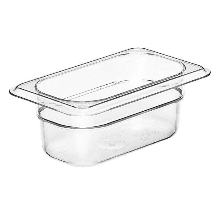 1/9 -Polycarbonate GN Pan 65mm Clear