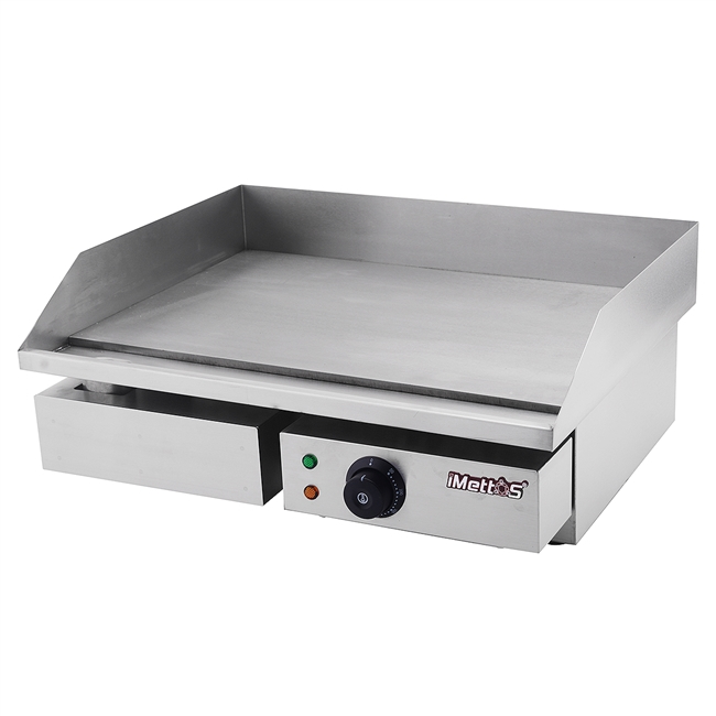 Griddle Single Flat Top 548 x 350mm Cooking Surface