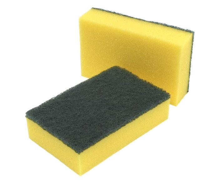 Caterers Sponge Scourer - 14x4x9cm (Pack of 10)