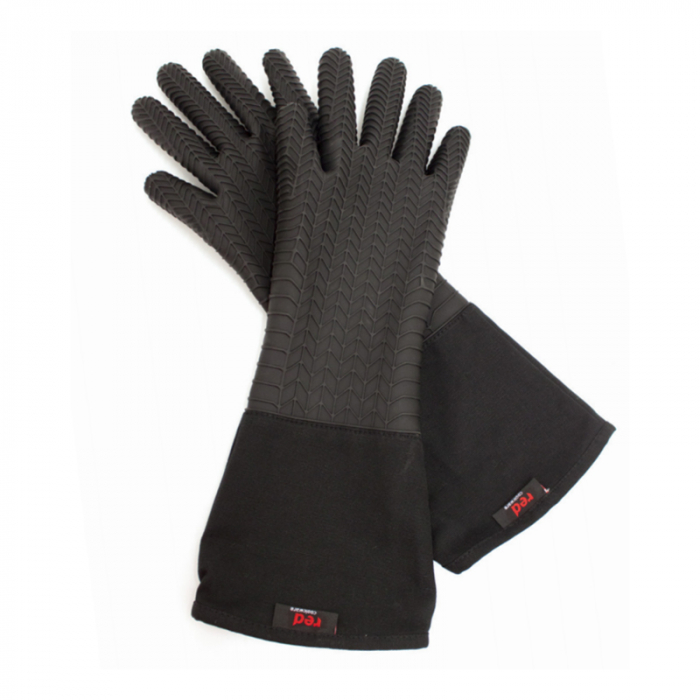 Red Cookware Silicone Glove - Tested up to 350°C