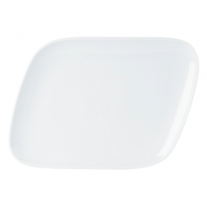 Perspective Coupe Dinner Plate 35x25cm/13.75''x9.75''