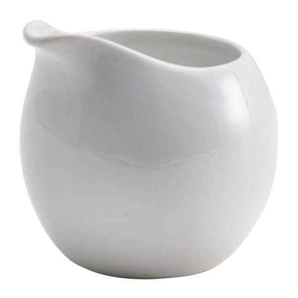 Genware Porcelain Milk Jug 8.5cl/3oz