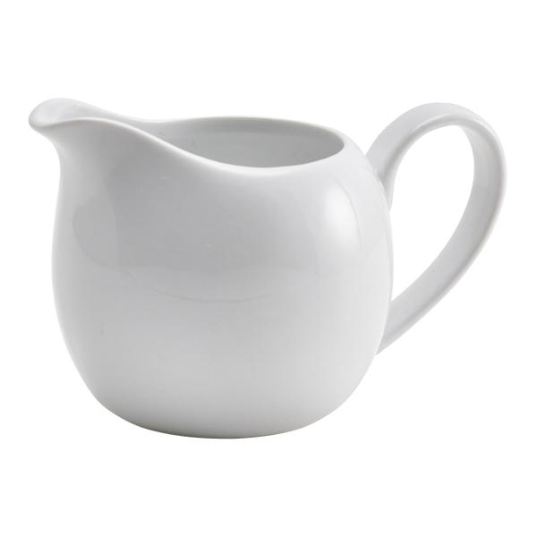 Genware Porcelain Milk Jug 14cl/5oz