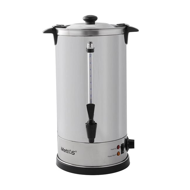 Manual Fill Water Boiler Double Layer 10 Ltr