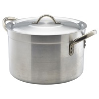 Aluminium Stewpan With Lid 5.5Litre