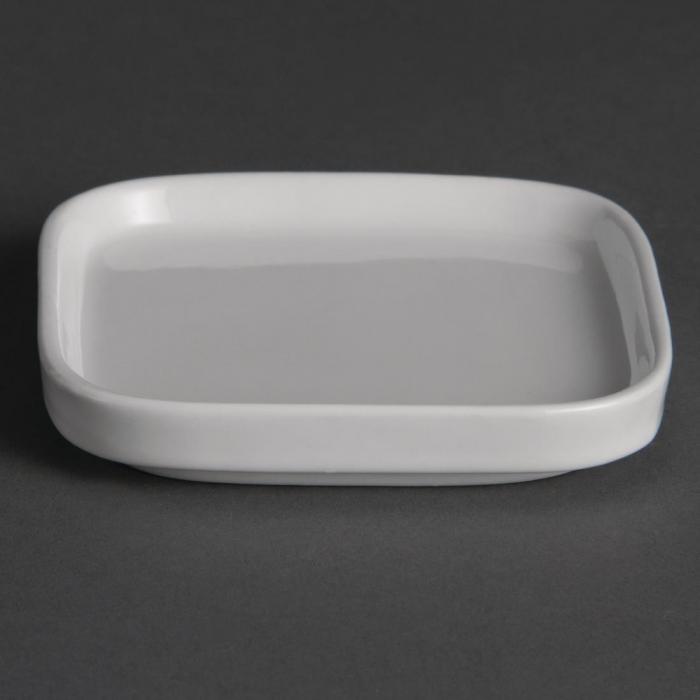 """Olympia Miniature Flat White - 93x93mm 3 3/4x3 3/4"""" (Box 12)"""