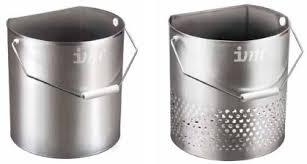 IMC Chip Bucket CS-B2 (with drainage holes)