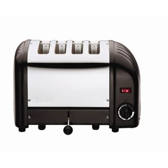 Dualit Bread Toaster 4 Slice Black