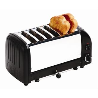 Dualit Bread Toaster 6 Slice Black