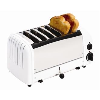 Dualit Bread Toaster 6 Slice White