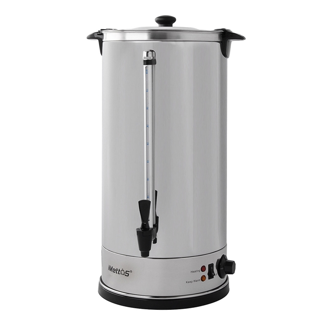 Manual Fill Water Boiler Double Layer 30Ltr