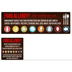 Allergy Sticker Pack (8 STICKERS)
