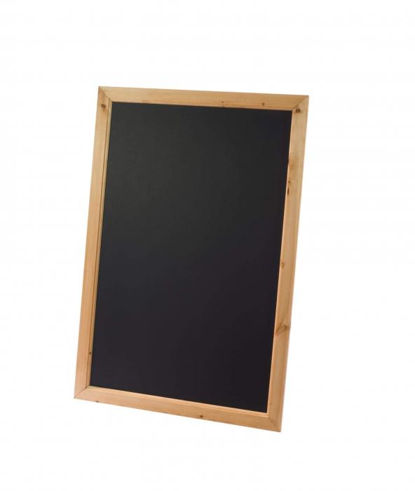 Deluxe Framed Blackboard Antique Pine 636mm x 486mm