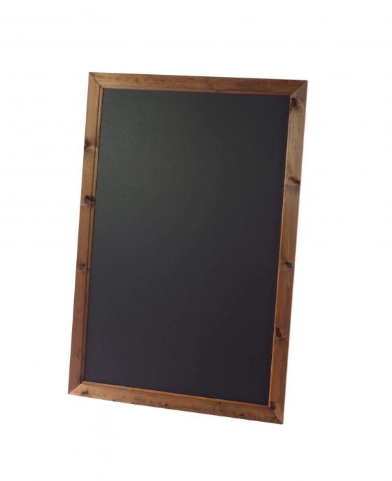 Deluxe Framed Blackboard Oak 636mm x 486mm