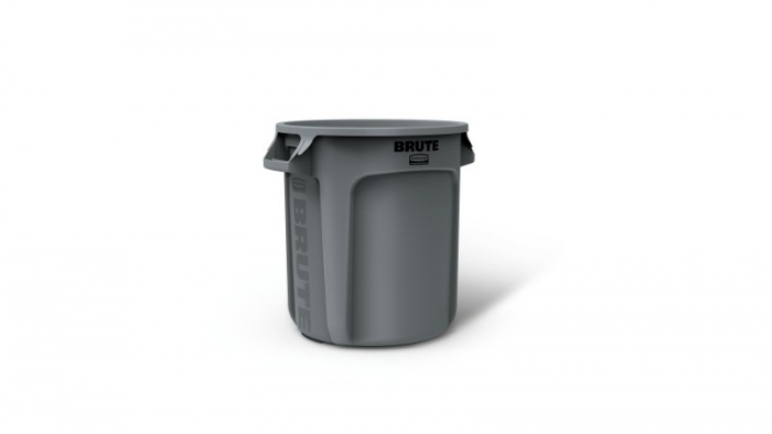 Rubbermaid Brute Container Grey 37L