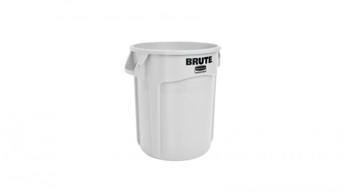 Rubbermaid Brute Container White 37L