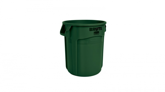 Rubbermaid Brute Container Green 75L