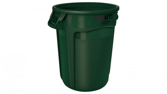 Rubbermaid Brute Container Green 121L