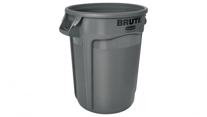 Rubbermaid Brute Container Grey 121L