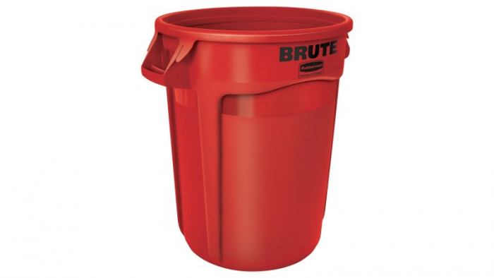 Rubbermaid Brute Container Red 121L
