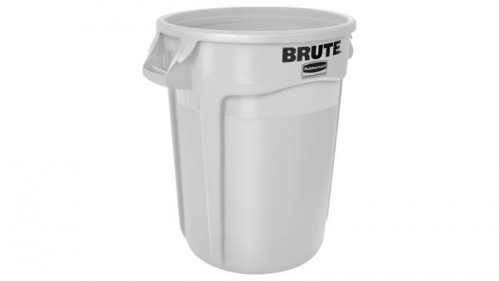 Rubbermaid Brute Container White 121L