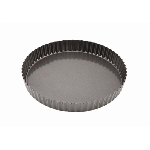 Carbon Steel Non-Stick Fluted Quiche Tin 25cm