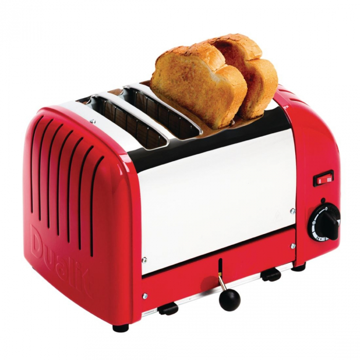 Dualit Bread Toaster 4 Slice Red