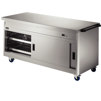 Lincat Panther 800 Series Free-standing Hot Cupboard - Plain Top - W 1855 mm - 2.5 kW