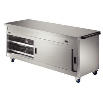 Lincat Panther 800 Series Free-standing Hot Cupboard - Plain Top - W 2180 mm - 2.5 kW