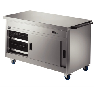 Lincat Panther 800 Series Free-standing Hot Cupboard - Plain Top - W 1530 mm - 2.5 kW