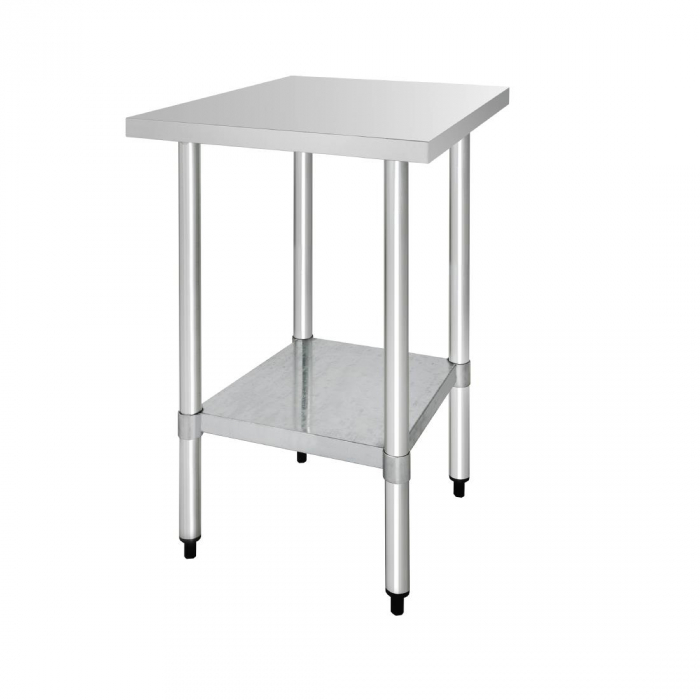 Vogue Stainless Steel Table - 600x700x900mm