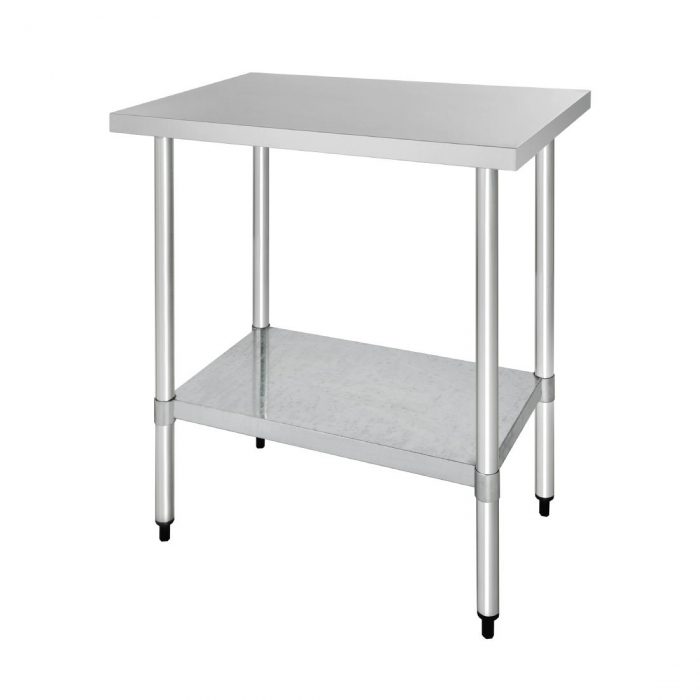 Vogue Stainless Steel Table - 900x700x900mm