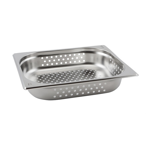 Perforated St/St Gastronorm Pan 1/2 - 100mm Deep