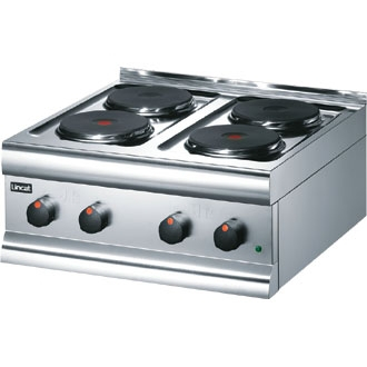 Lincat Silverlink 600 Electric Counter-top Boiling Top - 4 Plates - W 600 mm - 7.0 kW
