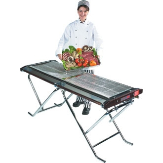Cinders Propane Gas Barbecue Slimfold TG160