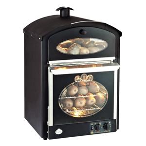 King Edward Bake-King Potato Oven Black