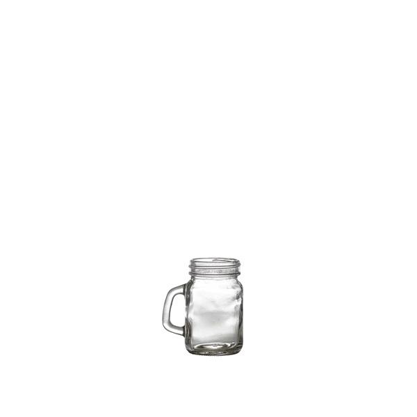 Genware Glass Mini Mason Jar 12cl/4.25oz