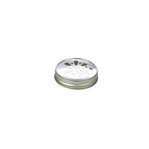 Genware Glass Mason Jar Lid