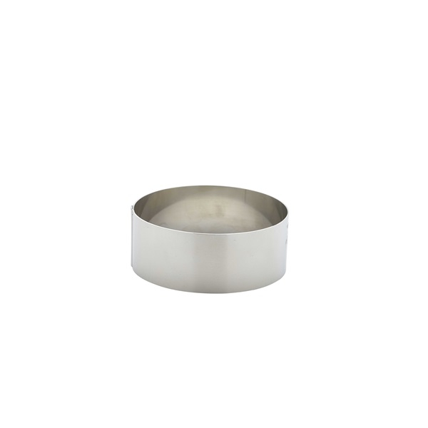 Stainless Steel Mousse Ring 9x3.5cm