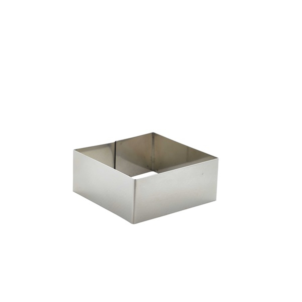Stainless Steel Square Mousse Ring 8x3.5cm