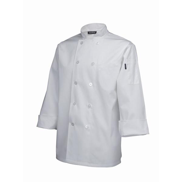 Standard Jacket (Long Sleeve) White S Size