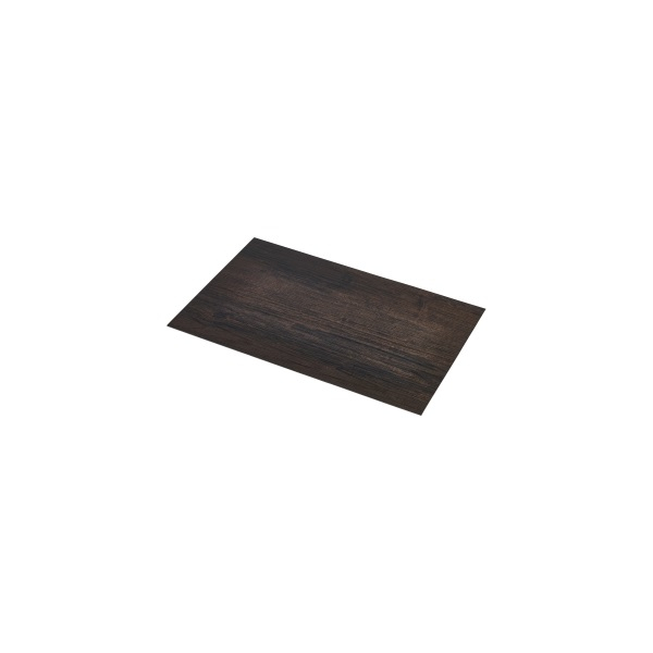 Placemat Dark Wood Effect 45x30cm