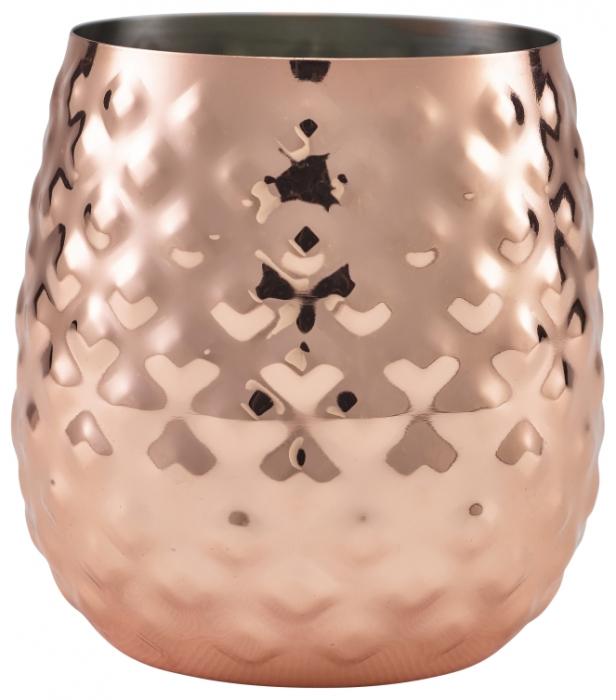 Copper Pineapple Cup 44cl/15.5oz