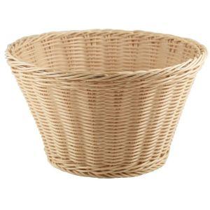 Polywicker Display Basket 26cm Dia