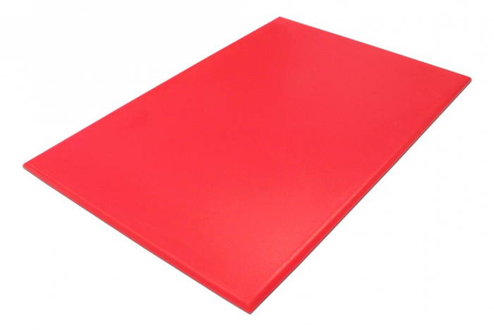 """BONZER RED COOKWARE CUTTING BOARD NSF HIGH DENSITY 18x12x1/2"""" (6 Colour Options)"""