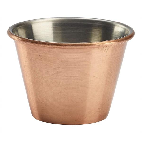 2.5oz Copper Plated Ramekin