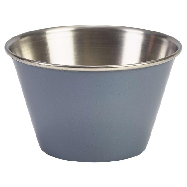 6oz Stainless Steel Ramekin Grey